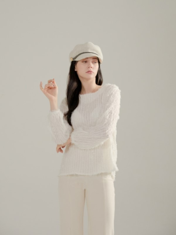 ​​080. Timeless classic Knit  IVORY